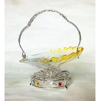 The New sun flower shape candy bowl w/classic stand & elegantThe New(1)