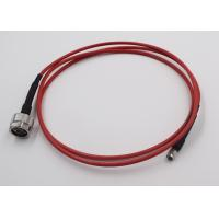 Cheap Test Application RF Cable Assembly N Connecotr To SMA Semi Flex Cable for sale