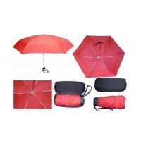 Red Box Ladies Umbrellas Windproof 5 Section Strong Aluminum Frame Windproof Ribs