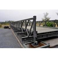 Cheap Prefabricated Standardized Strongest Truss Bridge , Galvanized Portable Steel Bridge wholesale