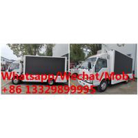 Cheap HOT SALE!  high quality and competitive price ISUZU P6 mobile LED advertising truck, ISUZU LED screen car for sale for sale