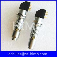 Cheap EXG.1B.304.HLN 4 pin solder pin lemo pcb cross connector for sale