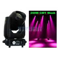 Cheap 200W White LED Stage Wash Lights , Varyscan P7 CMY Moving Head for sale