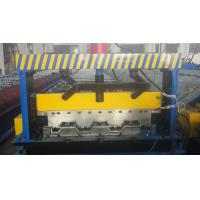 Buy cheap Galvanized Steel Floor Deck Roll Forming Machine from wholesalers