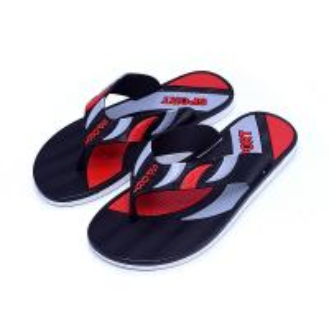 China Comfortable Mens Beach Flip Flops , Casual Flip Flops Screen Print Type on sale