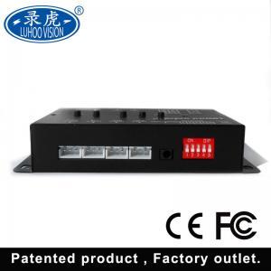 Cheap 4CH Video Audio Vehicle Mobile DVR Surveillance Recording System 96 * 52 * 23MM for sale