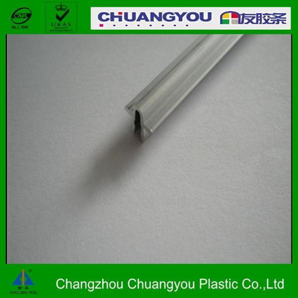 Aluminum Window Plastic : Double track sliding door rail for plastic steel windows