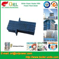 Buy cheap Oil Industry Heating Boiler Steam Super Heater 110 MW Rate Factor Heating Elements from wholesalers