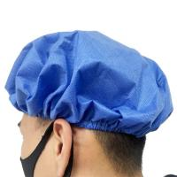 Cheap Waterproof Disposable Head Cap With Single Or Double Elastic Available for sale