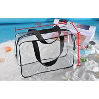 Cheap Clear PVC Bag For Men And Women , Light Weight PVC Designer Bags ROHS Approved for sale
