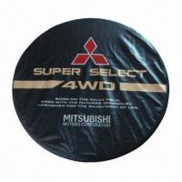 Cheap PVC Spare/Car Tire Cover, with 30-/32-inch Diameter, Available in Various Colors for sale