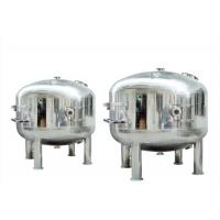 China Stainless Steel High Pressure Micro Filter Housing , Water Filter Cartridge Housing on sale