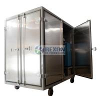 Cheap Dust Proof Enclosed Hot Air Generator , Compressed Air Drying Equipment DAG-300 for sale