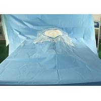 Cheap Hospital Sterile Surgical Drapes Cesarean Delivery Fenestration With Surgical Film for sale