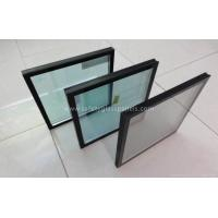 Cheap Commercial Clear Double Pane Insulated Glass Door And Curtain Wall Glass for sale