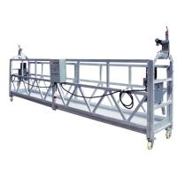 Buy cheap OEM ZLP630 Aluminum High Working Rope Suspended Platform Cradle With 630 Rated Load from wholesalers