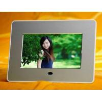 Cheap Infrared control 7 inch Digital Photo Frame for Photo browse,  video and music playback for sale