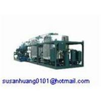 Cheap Black used oil recycling system/ Motor oil/ Car oil/ Engine oil regeneration machine for sale