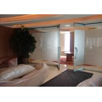Cheap 10MM Tempered Glass Panels For Walls , Internal Glass Partitions for sale