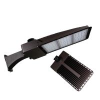 Cheap DLC4.2 IP65 Outdoor Led Shoebox Street Light Road Lamp 150W For Parking Lot for sale