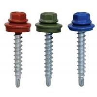 Cheap Hexagon Head Self-Drilling Screw, DIN7504-K, for Metal for sale