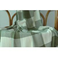 Cheap Plaid Bamboo Baby Blanket for sale