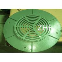 China Flange Top Assembly  Compact Structure Floor Drain Customized Dimension  ASTM A48 Rain Water Drainage on sale