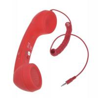 Cheap Retro Cell Phone 3.5mm Handset for iPhone 4 4s with Volume Remote Control (HFC-108-2) for sale