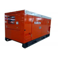 Cheap 6KW - 30KW Kubota low fuel consumption power diesel genset with Stamford wholesale