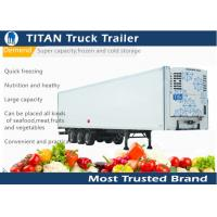 Cheap Thermo King 20ft 40ft 53ft carrier trailer refrigeration For Frozen Food Transportation for sale