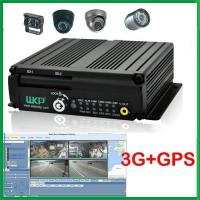 Cheap 4CH Mobile DVR Recorder FOR BUS Support two SD cards with CMS software remote control for sale