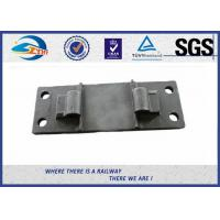 Cheap Railway Cast Iron Base Sole Rail road Plates Steel Tie Plate for sale