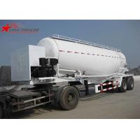 Cheap Customised Special Tank Truck For Fly Ash / Stone Powder / Aluminum Powder for sale