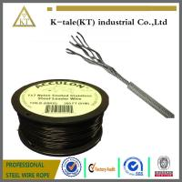 Quality hot sale in usa 0.9-2mm PA/PVC/Nylon coated stainless steel wire rope for wholesale