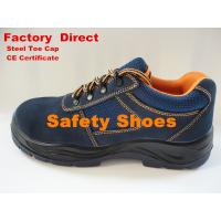Cow Suede Leather Sport Safety Shoes, Mens Safetry Shoes