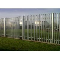Cheap Steel Palisade Fencing Panels for sale