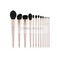 Cheap Personalised 12pcs Fashion Taklon Synthetic Makeup Brushes Set for sale