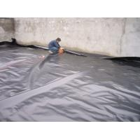 Cheap HDPE Waterproofing Sheet / Geomembrane Pond Liner Roll For Landfill Project for sale