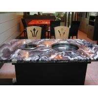 Cheap Marble Desktop Smokeless barbecue pot Hot and cold snow pot Smokeless grilled pot for sale
