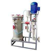 Cheap Chemical Filter Unit Electroplating Equipment For Wastewater Surface Treatment for sale