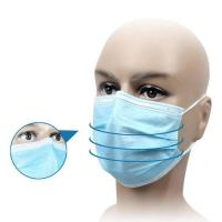 Cheap Waterproof Disposable Medical Mask For House Cleaning / Infant And Elderly Care for sale