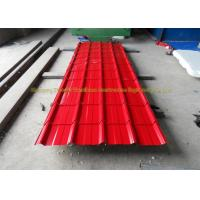 Cheap Sound Insulation Corrugated Metal Roofing Colour Coated Steel Roofing Sheets for sale