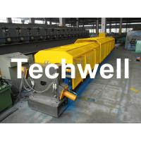 """Cheap 3"""" * 3"""" Squared Rainwater Downpipe Roll Forming Machine For Water Pipe, Rain Gutter for sale"""