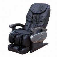 Massage Chair Made Of PU And PVC Leather With Fashionable And Original LED