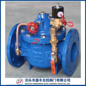 Cheap ductile iron remote control Float valve for sale