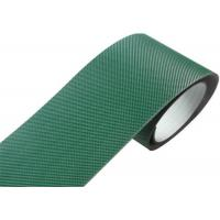 Cheap Indoor Pvc Pu Conveyor Belt , Green Corrugator Belt With Steel Clipper Joint for sale
