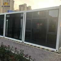 China 20ft Temporary Prefab Modular Homes Portable Prefabricated Houses on sale