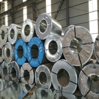 China 0.12MM-1.2MM Cold PPGI / GI Galvanized Steel Coil For Wall Construction on sale