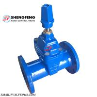 Cheap DIN DN100 Non rising Stem EPDM disc ductile iron F5 Gate Valve for sale