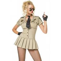 Buy cheap High Quality Halloween Sexy Police Costumes Sexy Sheriff Costume from wholesalers
